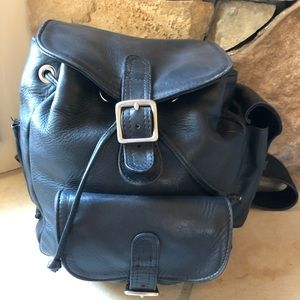 Coronado Leather Co backpack w/removable holster.